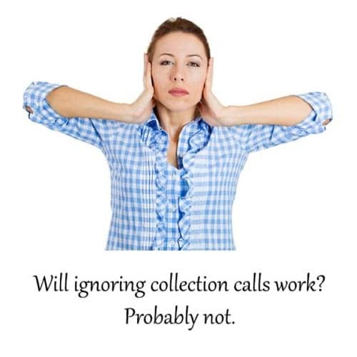What to do when collection calls start. We can help make arrangements that work